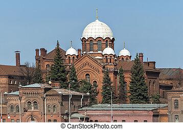 The prison church.