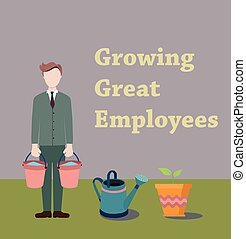 The process of creating new worker