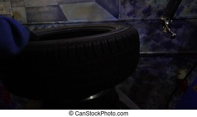 The Process Tire Service, Tire In Motion.