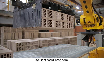The production of bricks