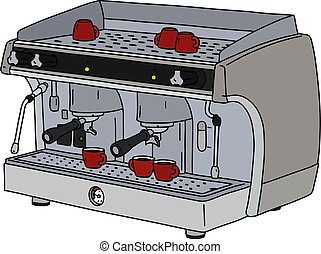 The professional espresso maker