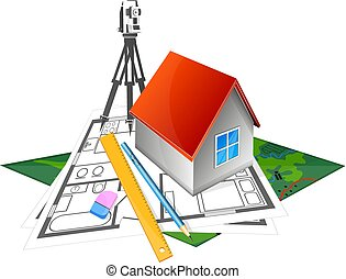 The project to build a house and geodesy - The project to...