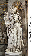 The Prophet Isaiah - Statue of the Prophet Isaiah in the...