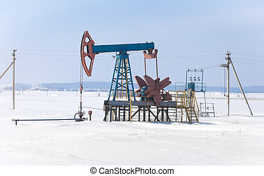 The pump for pumping oil