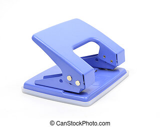 The Puncher isolate on white background
