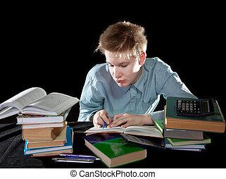 The pupil decides homework