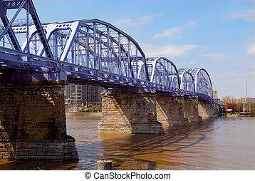 The Purple People Bridge Cincinnati Ohio