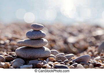 The pyramid of pebbles