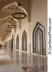 The Qatar State Grand Mosque in Doha, Middle East