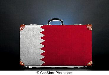 The Qatari flag