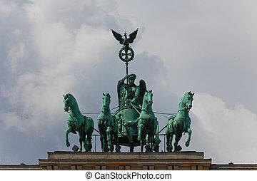 The Quadriga on the Brandenburger Gate