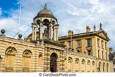 The Queen's College in Oxford, England