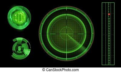 The radar.