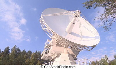The radio telescope
