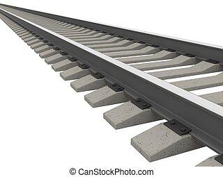 The railway - Very long railway