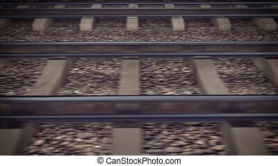 """""""The railways for a train."""""""