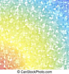 The rainbow mosaic
