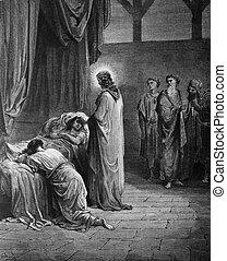The Raising of Jairus' daughter