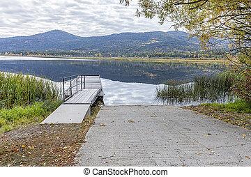 McArthur Lake in north Idaho.