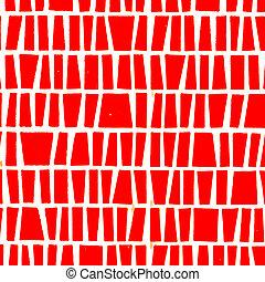 The Red ceramic texture