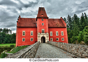 The Red chateau