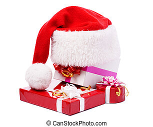 The red hat in the presents