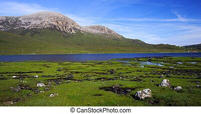 The red hills, isle of skye, Scotland