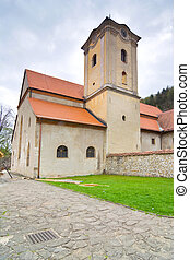 The Red Monastery, ancient chapel in Red Cloister complex...