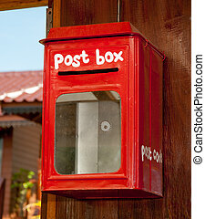 The Red postbox