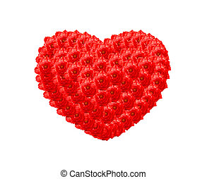 The Red Rose heart