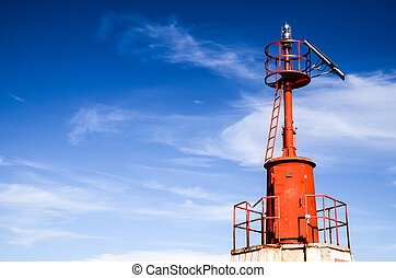 The Red Steel Lighthouse