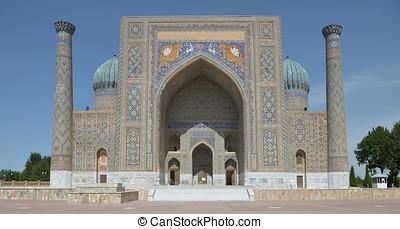 The Registan square in Samarkand