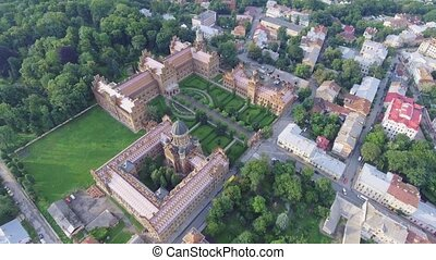 The Residency of the Chernivtsi National University....