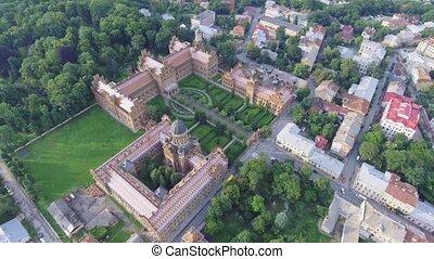 The Residency of the Chernivtsi National University....