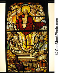 The Resurrection Stained Glass - The Resurrection of Christ...