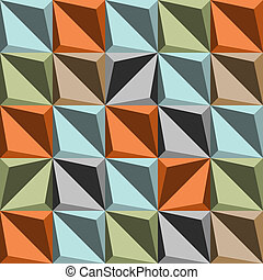the retro abstract background