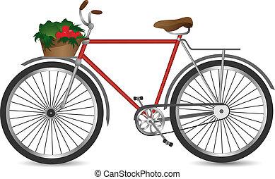 The retro bicycle