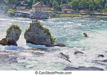 The Rhine Falls, Switzerland