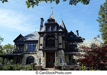 The Rhine house at Beringer winery