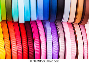 The ribbon bobbins