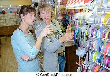 the ribbon shop