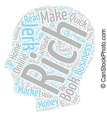 The Rich Jerk Just A Jerk Or Worth The Hype text background wordcloud concept