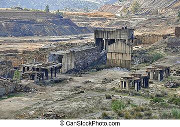 The Riotinto mining area
