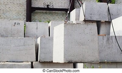 The rise of concrete slabs in the production