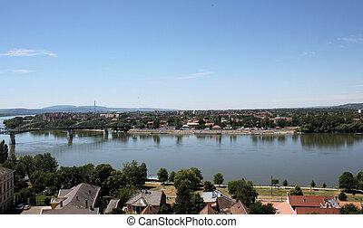 The river Danube