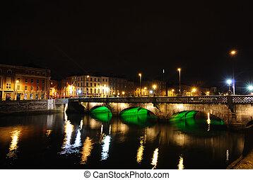River Liffey - The River Liffey in Dublin, Ireland.