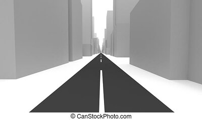 The road through the city. Navigation skills. 3 - The road...