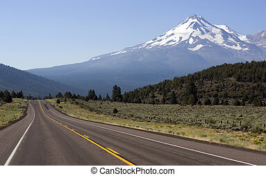 Road to Mount Shasta - The Road to Mount Shasta in ...