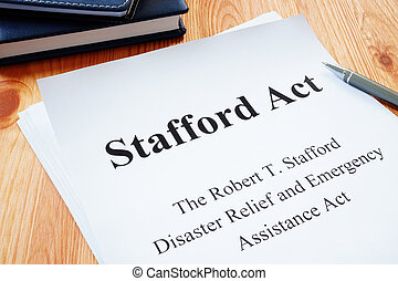 The Robert T. Stafford Disaster Relief and Emergency Assistance Act