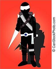 the robot ninja